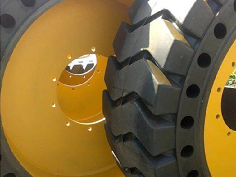 辐板式实心轮胎