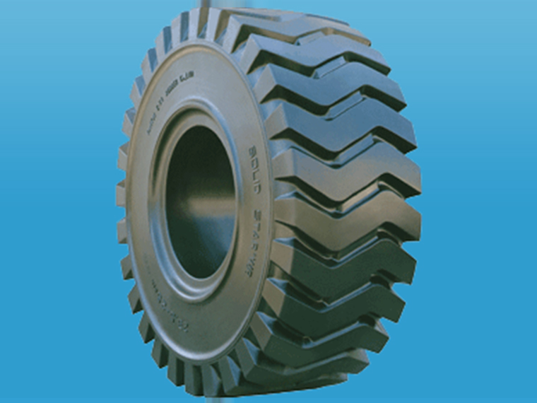 工程实心轮胎